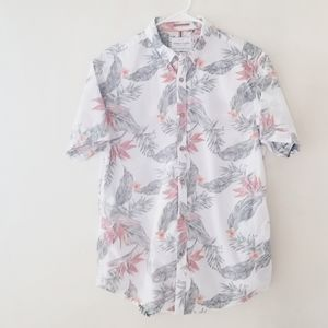 Denim and Flower Ricky Singh Hawaiian shirt